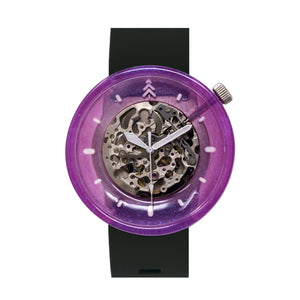 Pink Resin Pigment Wristwatch