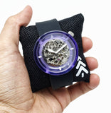 Ladies Violet Slim Watch