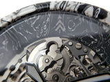Rorschach Ink Art Resin Watch - Maker Watch Co.