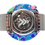 Tie-Dye Resin Watch - Back Case - Maker Watch Co.