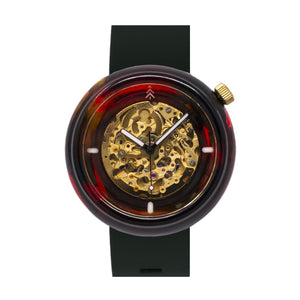 Tortoise Shell Resin Watch
