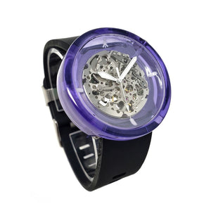 Violet Resin Automatic Watch