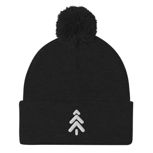 Winter Pom Pom Beanie - Unisex - Black - Maker Watch Co.®