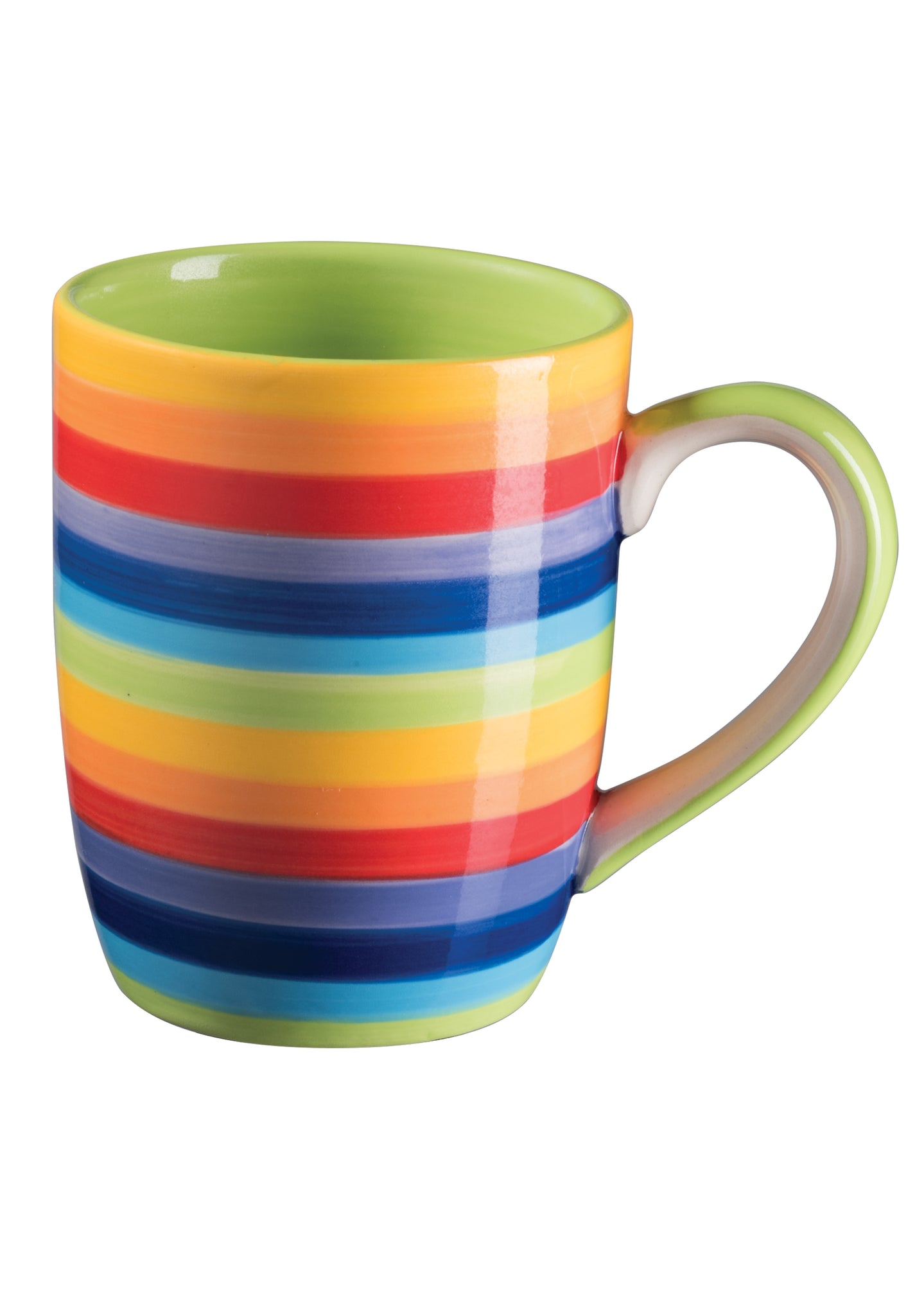 Rainbow Stripe Mug