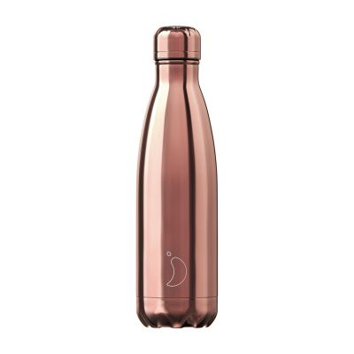 Chilly's Bottle Chrome Rose Gold
