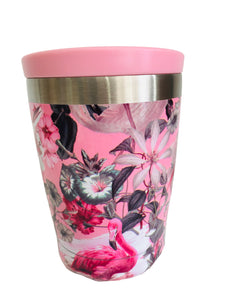 Chilly's Coffee Cup 340ml Tropical Flamingo