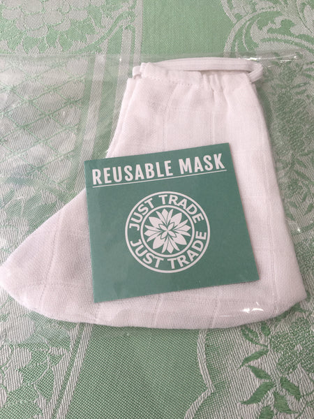 Fair Trade Washable Face Masks - Organic Cotton