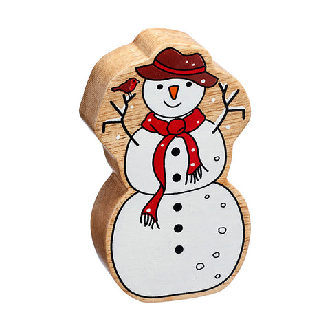 Lanka Kade Natural Colourful Figures - Snowman