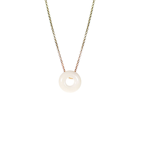 Vilma small circular necklace