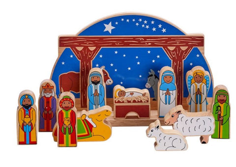 Lanka Kade Imaginative Playsets - Deluxe starry night nativity set