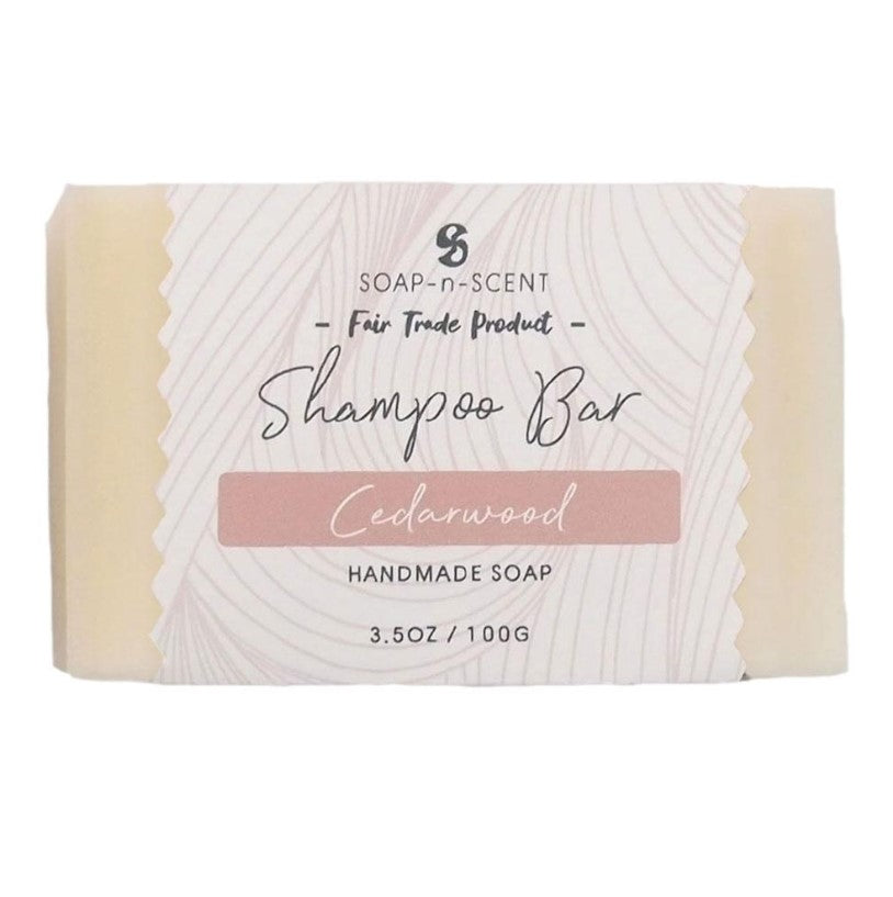 Solid Shampoo Bar - Cedarwood