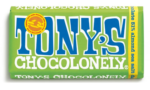 Tony's Chocolonely Dark Almond Sea Salt