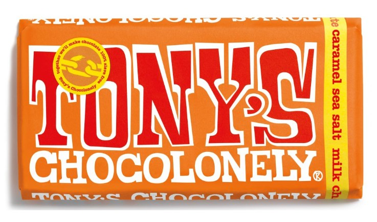 Tony's Chocolonely Milk Caramel Sea Salt