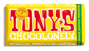 Tony's Chocolonely Milk Almond Honey Nougat