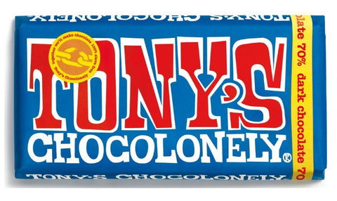 Tony's Chocolonely Extra Dark Chocloate