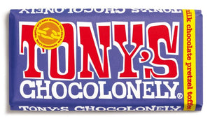 Tony's Chocolonely Dark Milk Pretzel Toffee