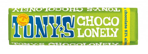 Tony's Chocolonely Dark Almond Sea Salt Mini Bar