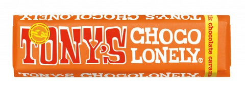 Tony's Chocolonely Milk Caramel Sea Salt Mini Bar
