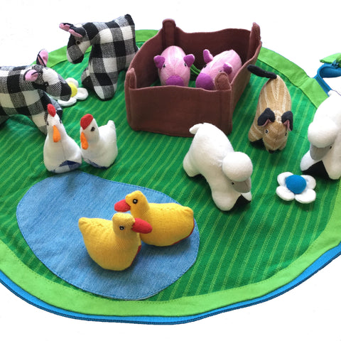 Farm Play Pouch