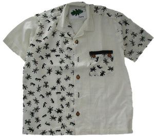Children's organic cotton animal print shirts - Ant