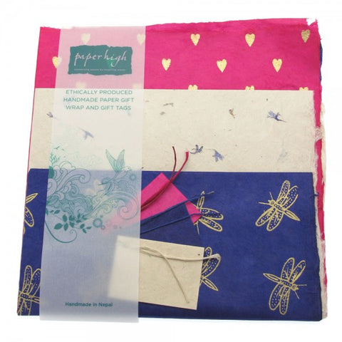 Mixed Gift Wrap with Tags