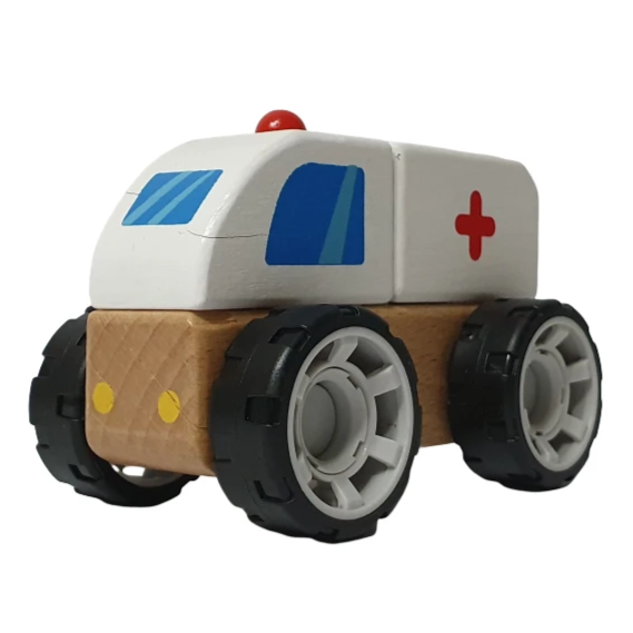 DIY Vehicles Series - Ambulance - Playfull Tribe Toys