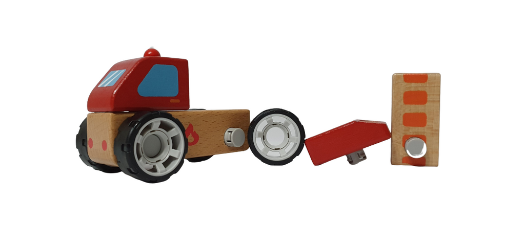 DIY Vehicles Series - Fire Engine - Playfull Tribe Toys