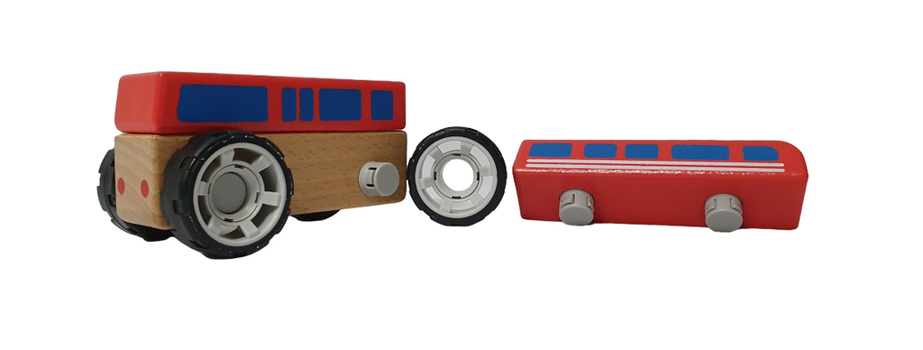 DIY Vehicles Series - Bus - Playfull Tribe Toys