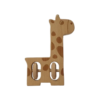 Sing Along Animal Series Teether - Giraffe - Playfull Tribe Toys