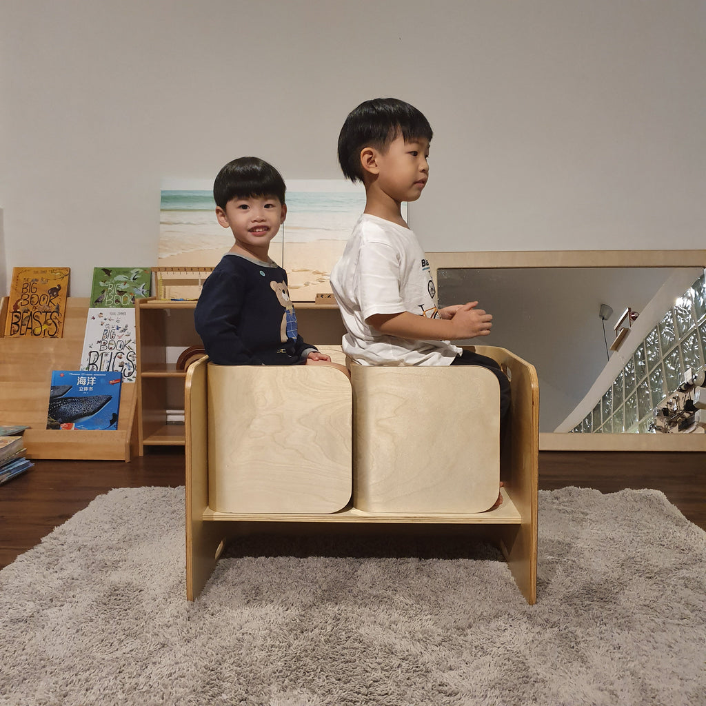 Weaning Table and Chairs Set Pre-order [May'21]