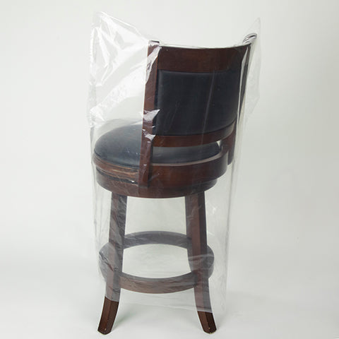 Plastic Chair Cover | Optional Customization | Made in USA | 3-5 Days | Minimum is 1 box of 100