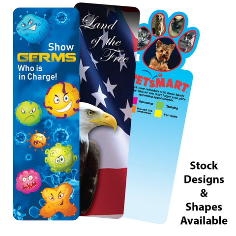 Bookmark (2 Side Custom Imprint) | Full Color Customization | Made in USA | 1-2 Weeks | Minimum is 1 Box of 500