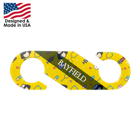 Face Mask Strap Hook and Ear Saver | Full Color Customization | Made in USA | 10-12 Days | Minimum is 1 Box of 250