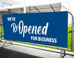 We've Reopened Banner (USA MADE | 3 Days)