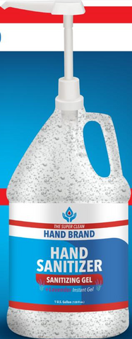 1 Gallon Gel Hand Sanitizer | No Customization | USA Made | 5-7 Days | Minimum is 1 Case of 4 Gallons