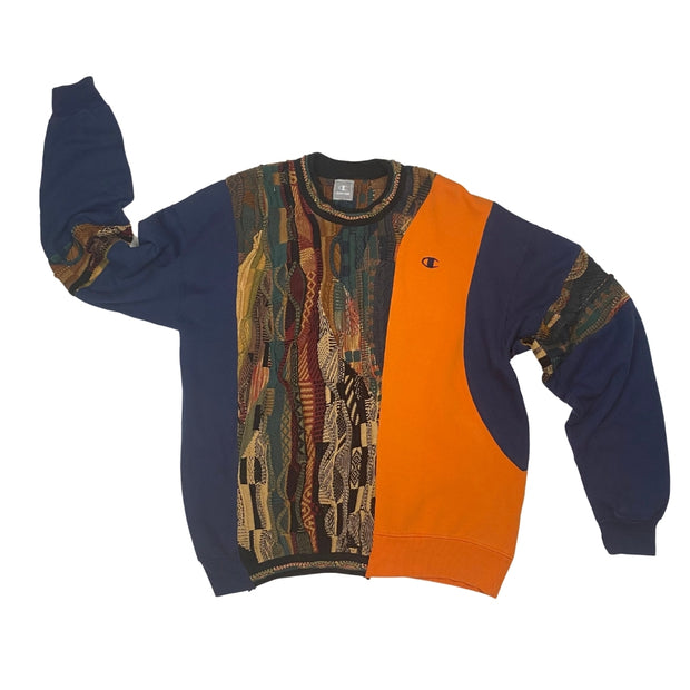 Champion Coogi Rework Orange/Navy