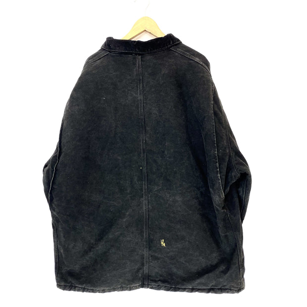 3XL Carharrt Black WIP Jacket - DURT