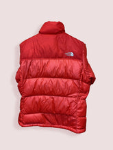 Load image into Gallery viewer, M Vintage TNF Nuptse 700 Puffer Coat Red Womens