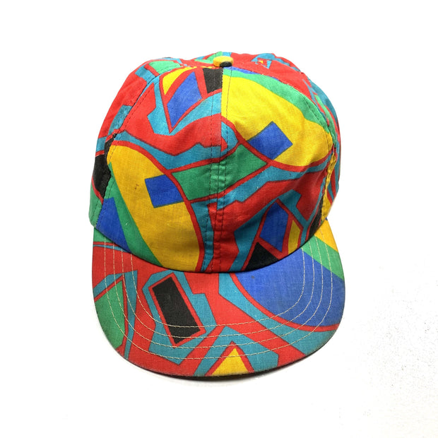 Abstract Print Vintage Cap - DURT
