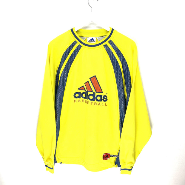 Adidas Basketball Big Logo Sports Sweatshirt (M) - DURT