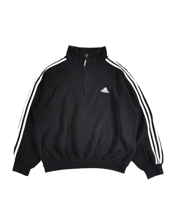 Adidas Mock Neck Quarter Zip Sweatshirt (M) - DURT