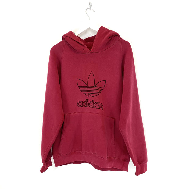Adidas Spell Out Big Logo Hoodie (S) - DURT