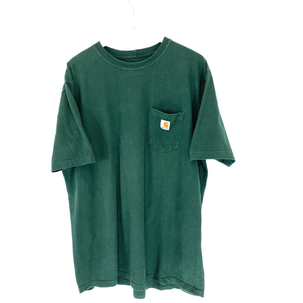 Carhartt Green Original Fit Tee (XL) - DURT