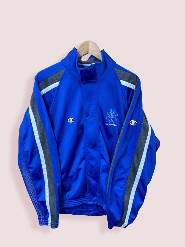 Champion 90s Button Up Volleyball Track Top L - DURT