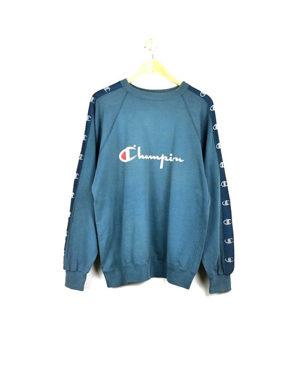 Champion Big Logo Sweatshirt (L) - DURT