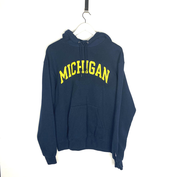 Champion Michigan Hoodie (M) - DURT