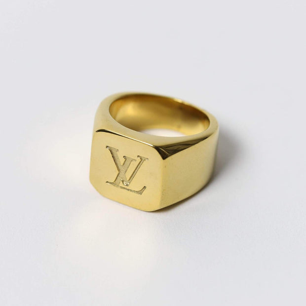 Louis V Ring Gold