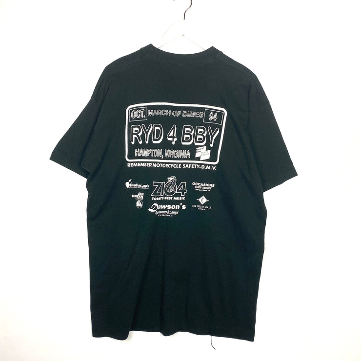 March Of Dimes Motorcycle Tee (XL)