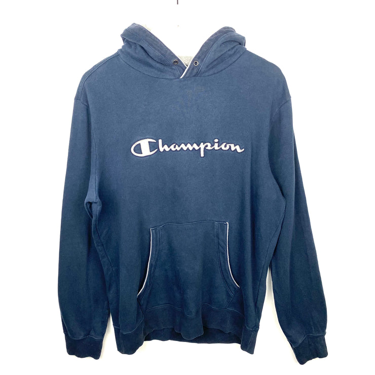 Champion Vintage Embroidered Hoodie (L)
