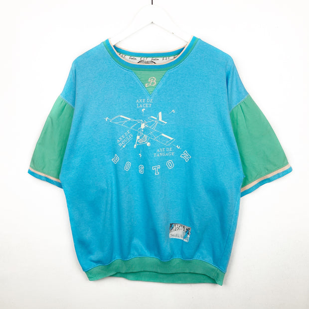 Retro 80s Boston Printed Tee (M)